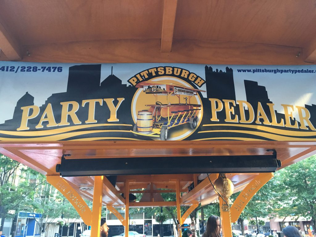 Special thanks to the Pittsburgh Party Pedaler for a great time and giving us the most mobile podcast we've done!
