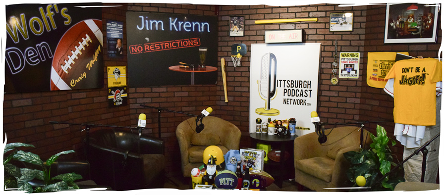 Pittsburgh Podcast Network Studio at talent network, inc.