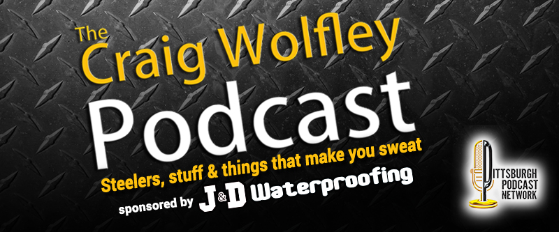 Craig Wolfley Steelers Podcast by J&D Waterproofing